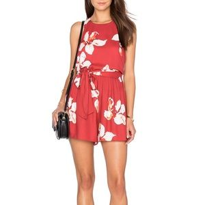 NWT Alice + Olivia mattie romper in summer lily